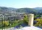 vue de votre terrasse ,villa jacaranda