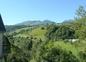 Vue sur la vallée depuis le chalet