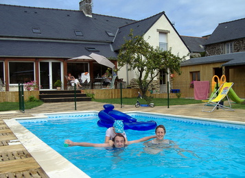 salon jardin la piscine