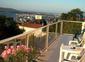 Terrasse privative avec vue sur l'Etang de Thau et la Mer Méditerranée