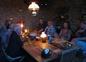 Le soir: table d'hôtes!