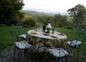 Table d'hôtes avec vue sur les montagnes