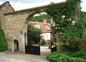 L'entrée de la Maison d'hôtes