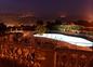 eclairage piscine de nuit