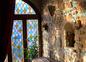 détail des vitraux