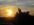 le coucher du soleil depuis le studio