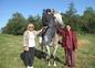 les chevaux du domaine avec VERONIQUE ET DAVINA