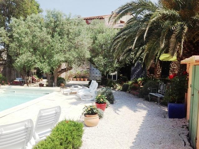 Chambre d 39 h tes le chai catalan chambre hotes piscine l for Le jardin catalan