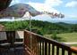 Vue Panoramique sur le Balcon derrière la maison.