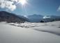 Paysage d'hiver sur nos montagnes