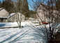 Le moulin sous la neige