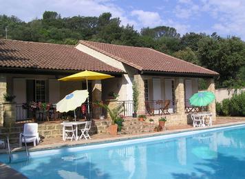Chambre d 39 h tes la combe joseph chambre hotes piscine - Chambre d hote languedoc roussillon avec piscine ...