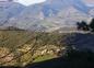 Les montagnes à proximité du village