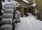 la ruelle sous la neige
