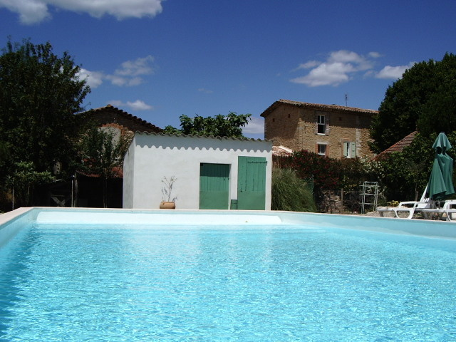 Chambre d 39 h tes la magnanerie chambre hotes piscine - Chambre d hote languedoc roussillon avec piscine ...
