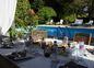 Repas face au parc piscine